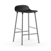 Normann Copenhagen Form Bar Stool 65cm Chrome Legs