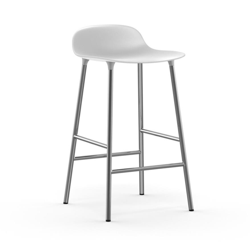 Normann Copenhagen Form stool chrome 65