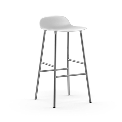 Normann Copenhagen Form barstool 75cm, chrome
