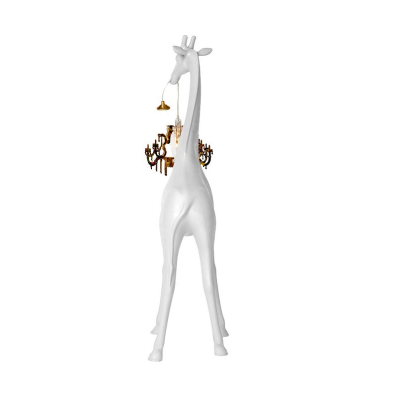 Qeeboo Giraffe in Love Lamp XS white
