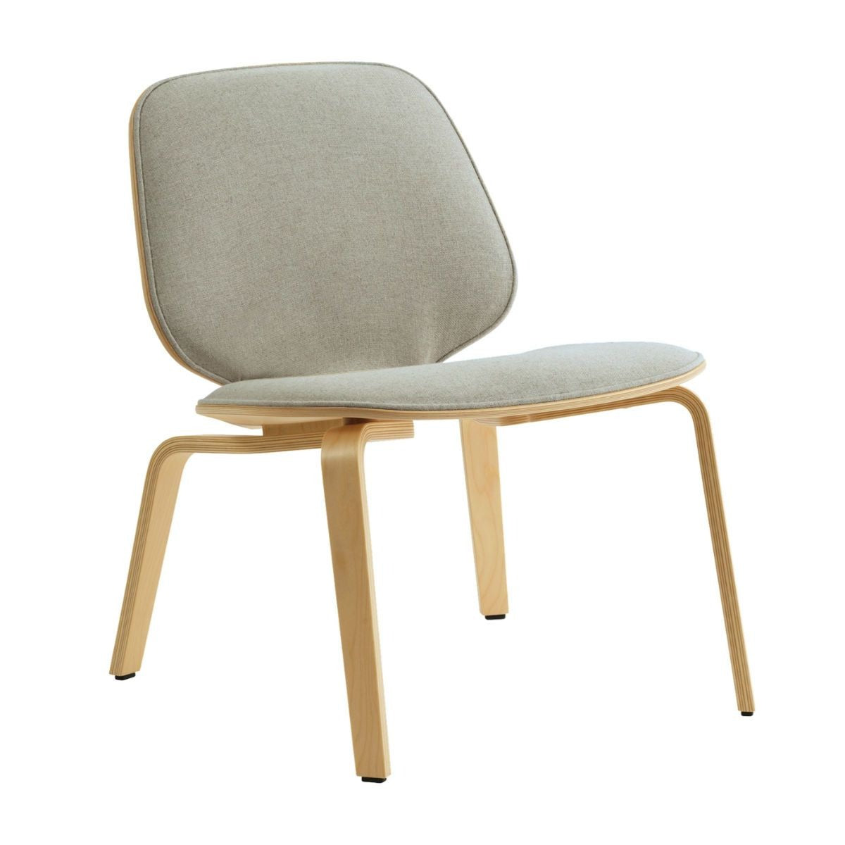 Normann Copenhagen My Chair lounger chair, birch, synergy LDS08
