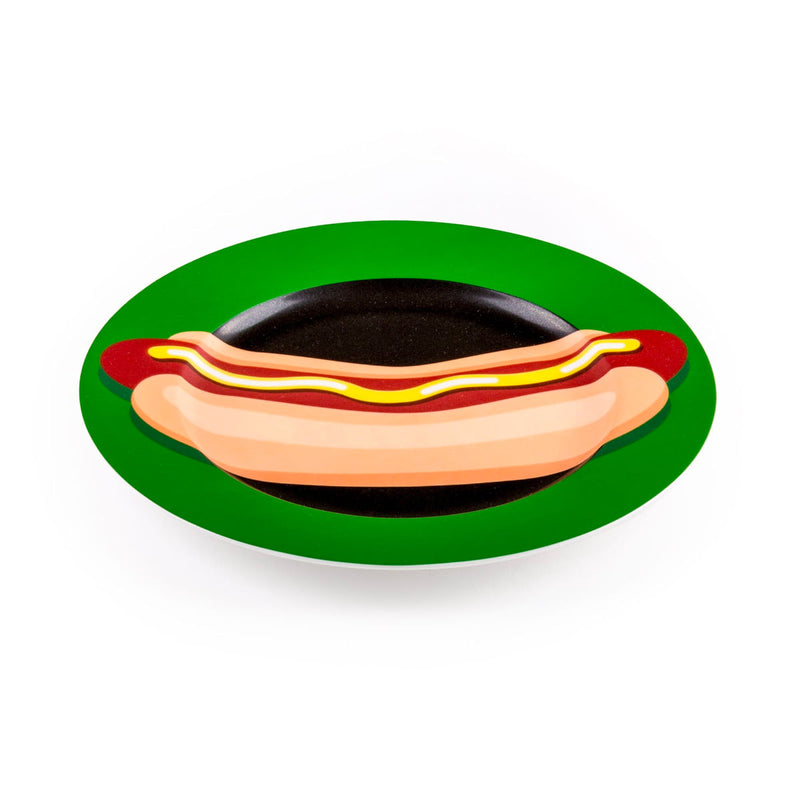 Seletti Blow by Studio Job Porcelain Plate, hot dog