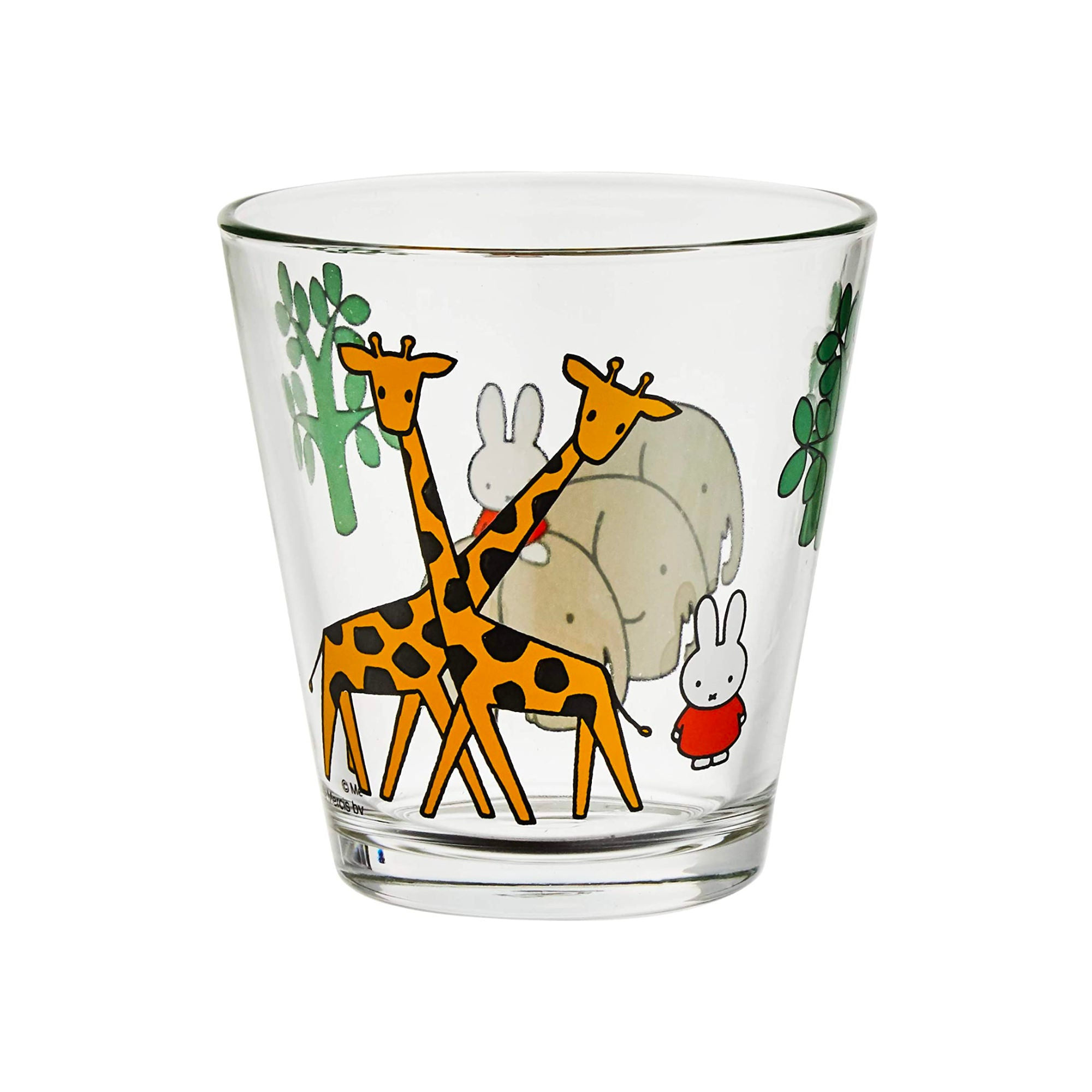Dick Bruna x Space Joy Miffy Drinking Glass 250ml , Safari