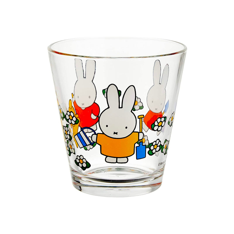 Dick Bruna x Space Joy Miffy Drinking Glass 250ml , Garden