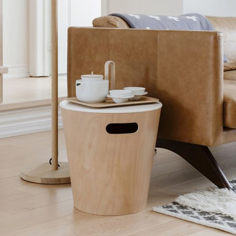 Umbra Woodrow Storage Stool , Natural