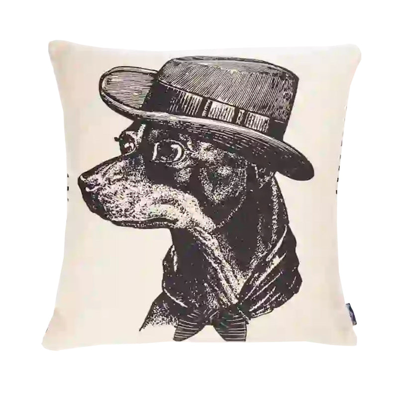 Chase & Wonder Sophisticated Dog Cushion