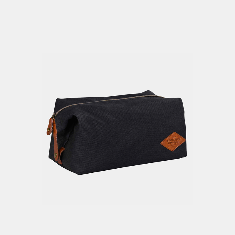 Wild and Wolf Waxed Canvas Wash Bag