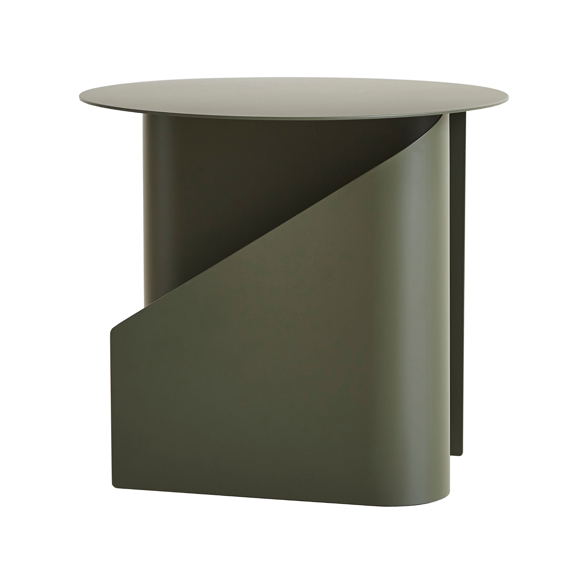 Woud Sentrum Side Table , Dusty Green