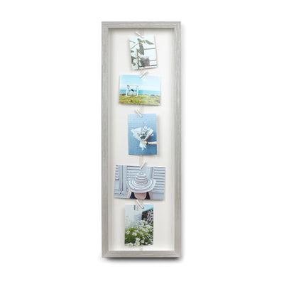 Umbra Clothesline Flip photo frame, grey