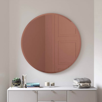 Umbra Bevy wall mirror, round