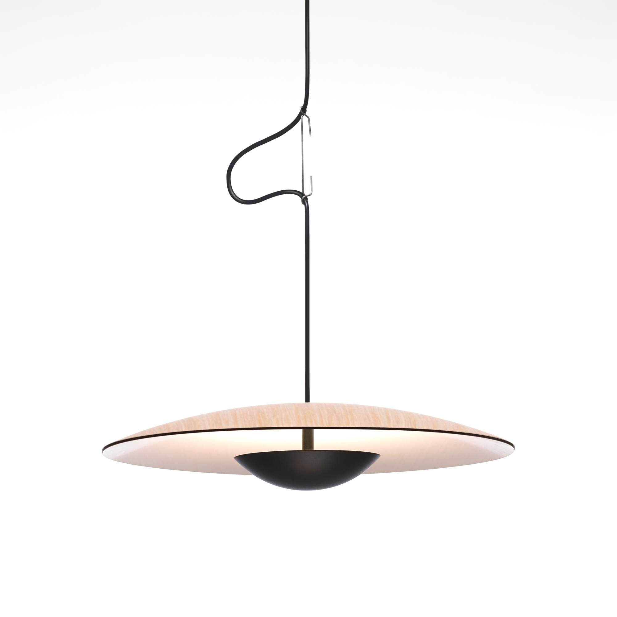 Marset Ginger 60 Suspension Lamp , Oak