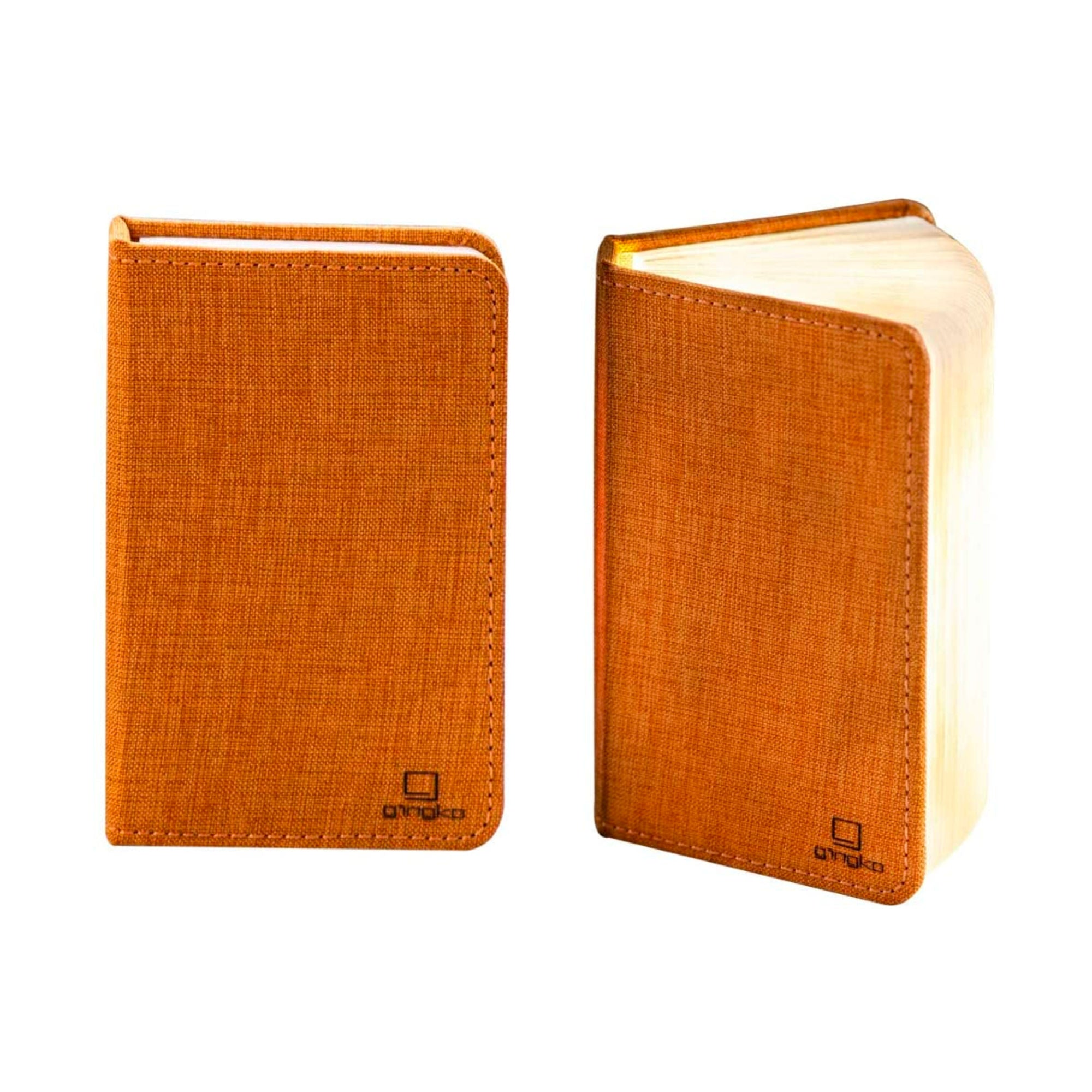 Gingko Smart booklight mini , linen orange