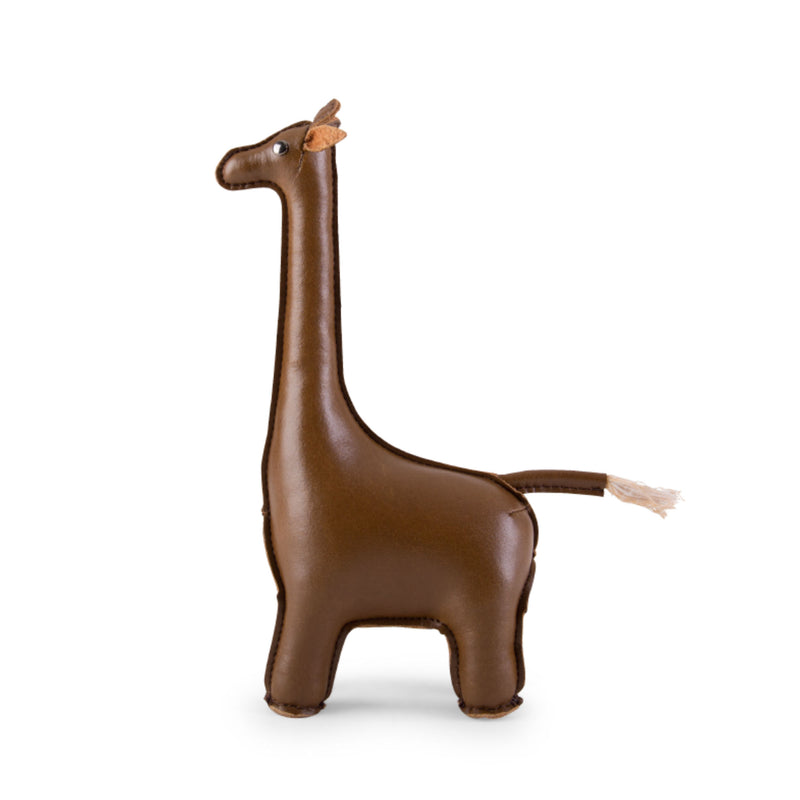 Zuny Giraffe paperweight, brown