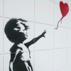 IXXI Banksy Girl with Balloon