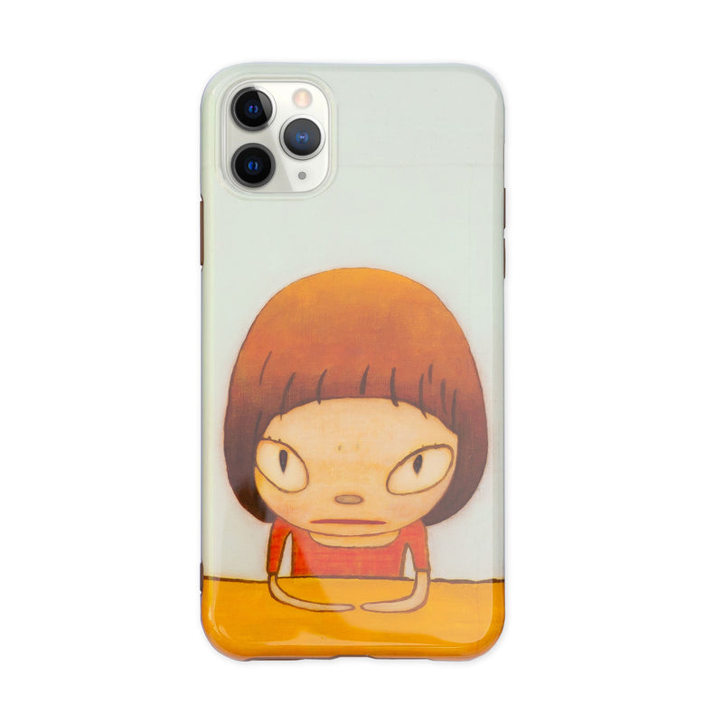 Yoshitomo Nara 2020 mobile case for iPhone 11 Pro Max, Let's talk about glory