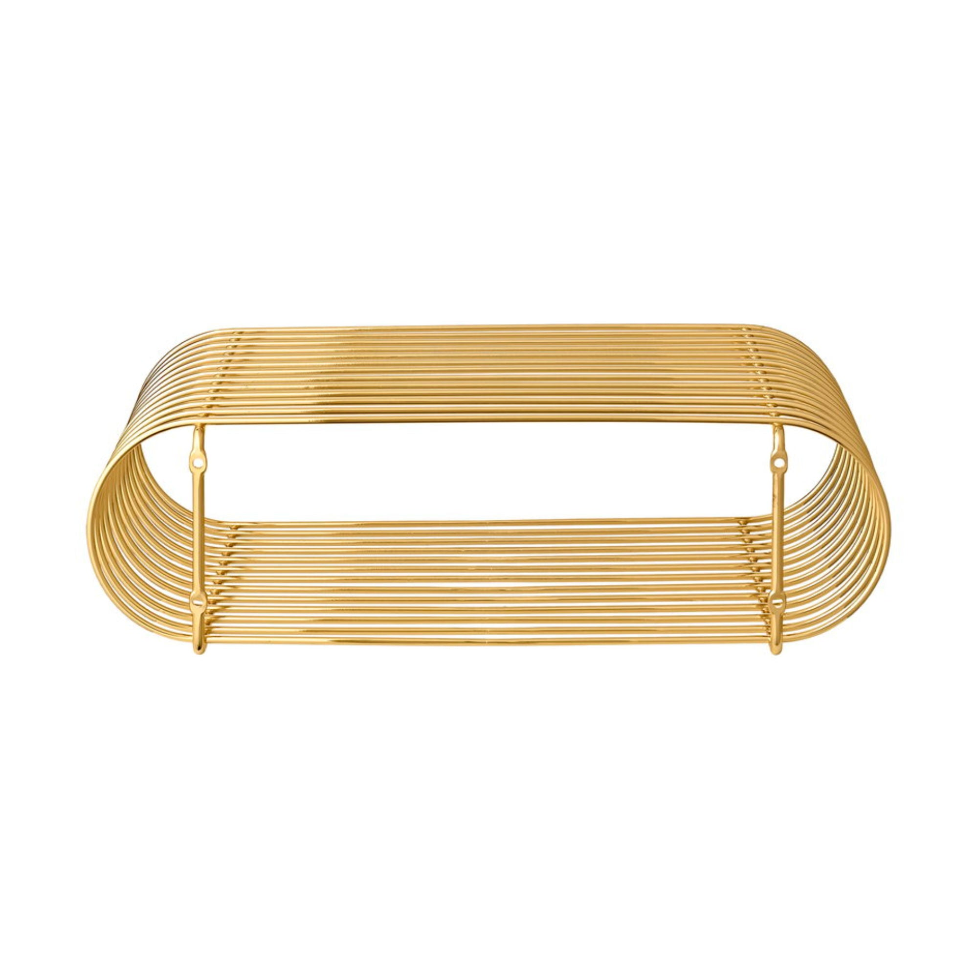 AYTM Curva Shelf , Gold
