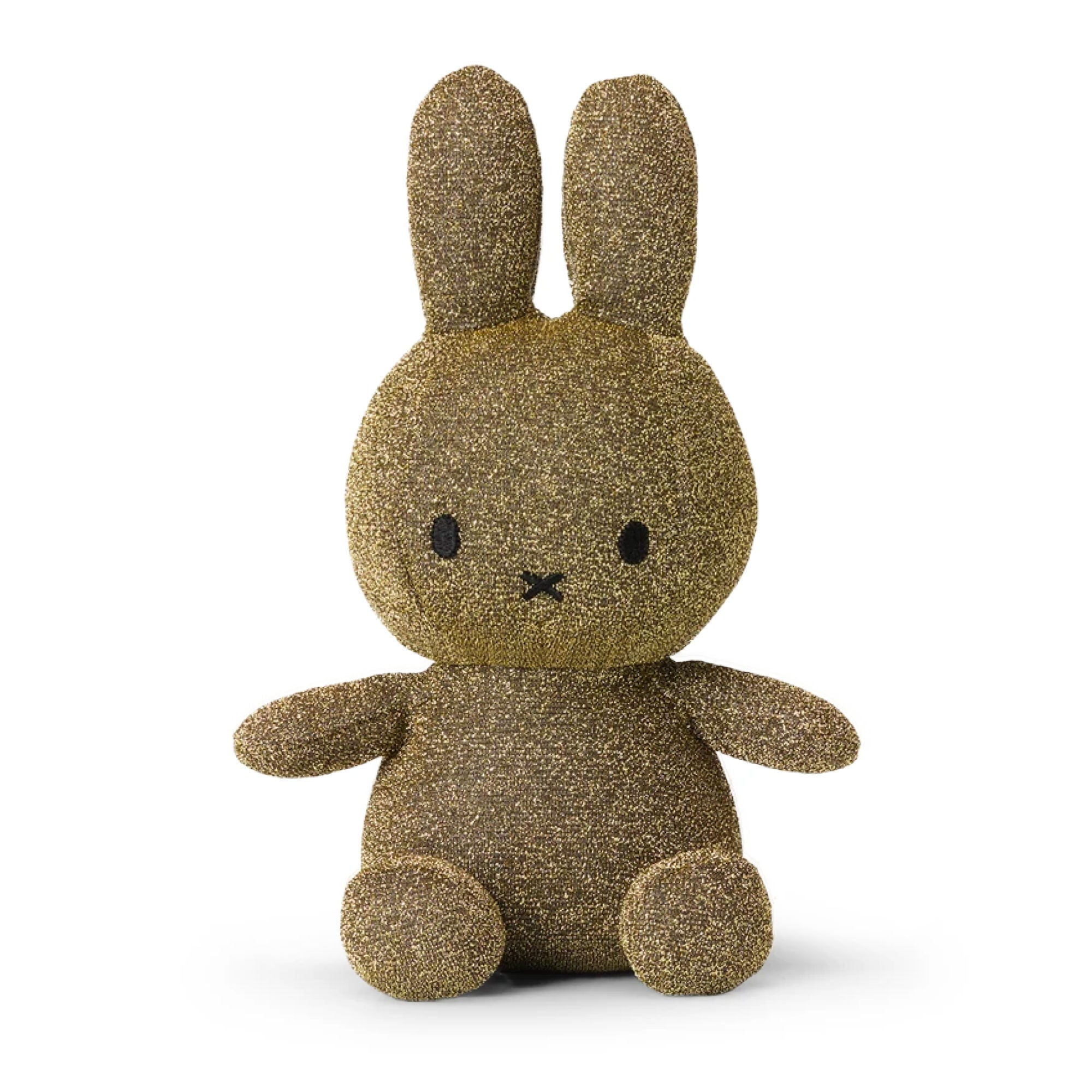 Miffy Sparkle Plush 50cm , gold