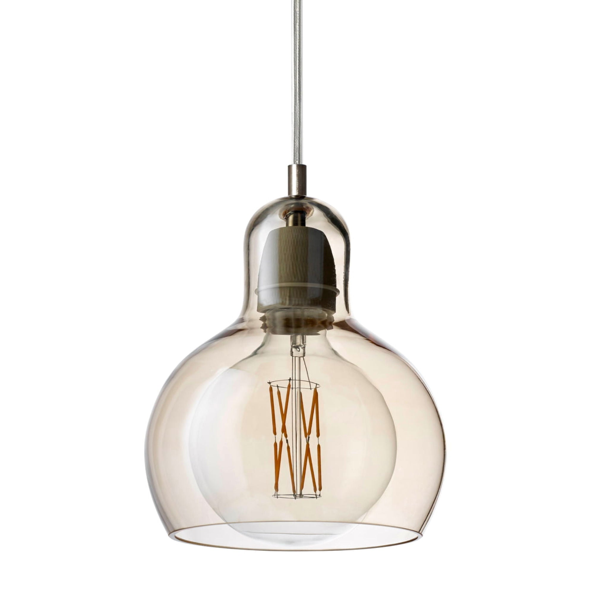 &Tradition SR2 Mega Bulb , gold - pvc cord