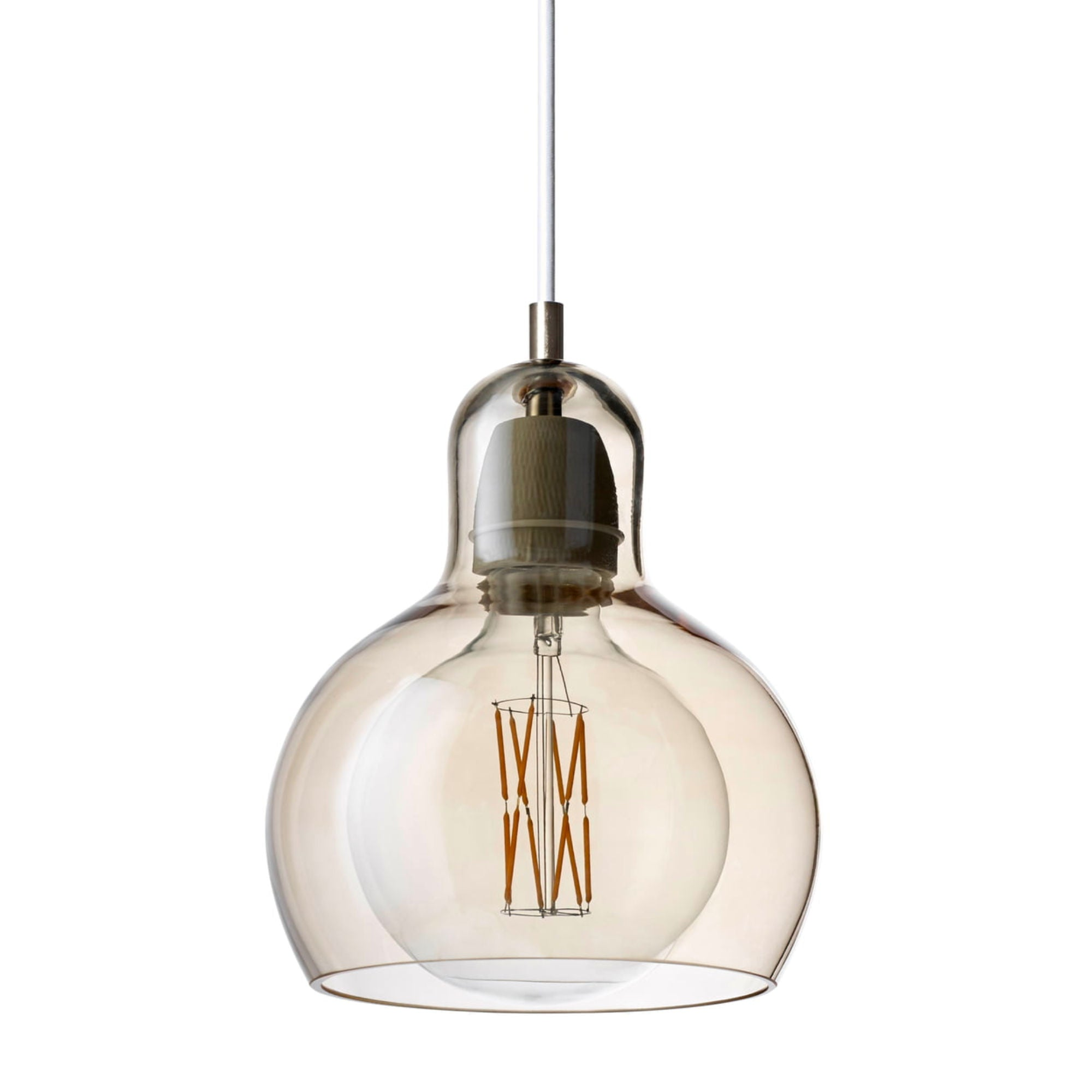 &Tradition SR2 Mega Bulb , gold - fabric cord