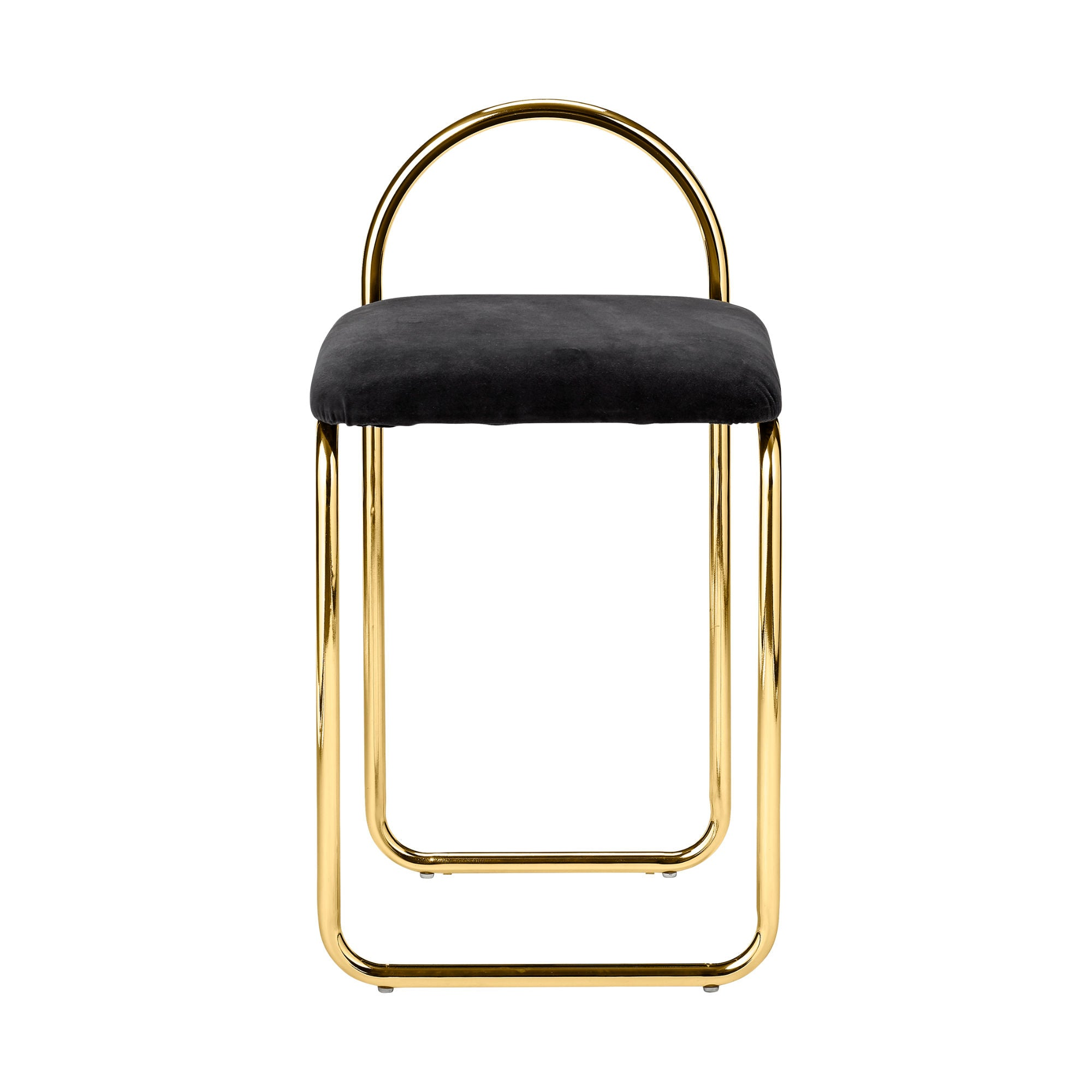 AYTM Angui chair , anthracite-gold
