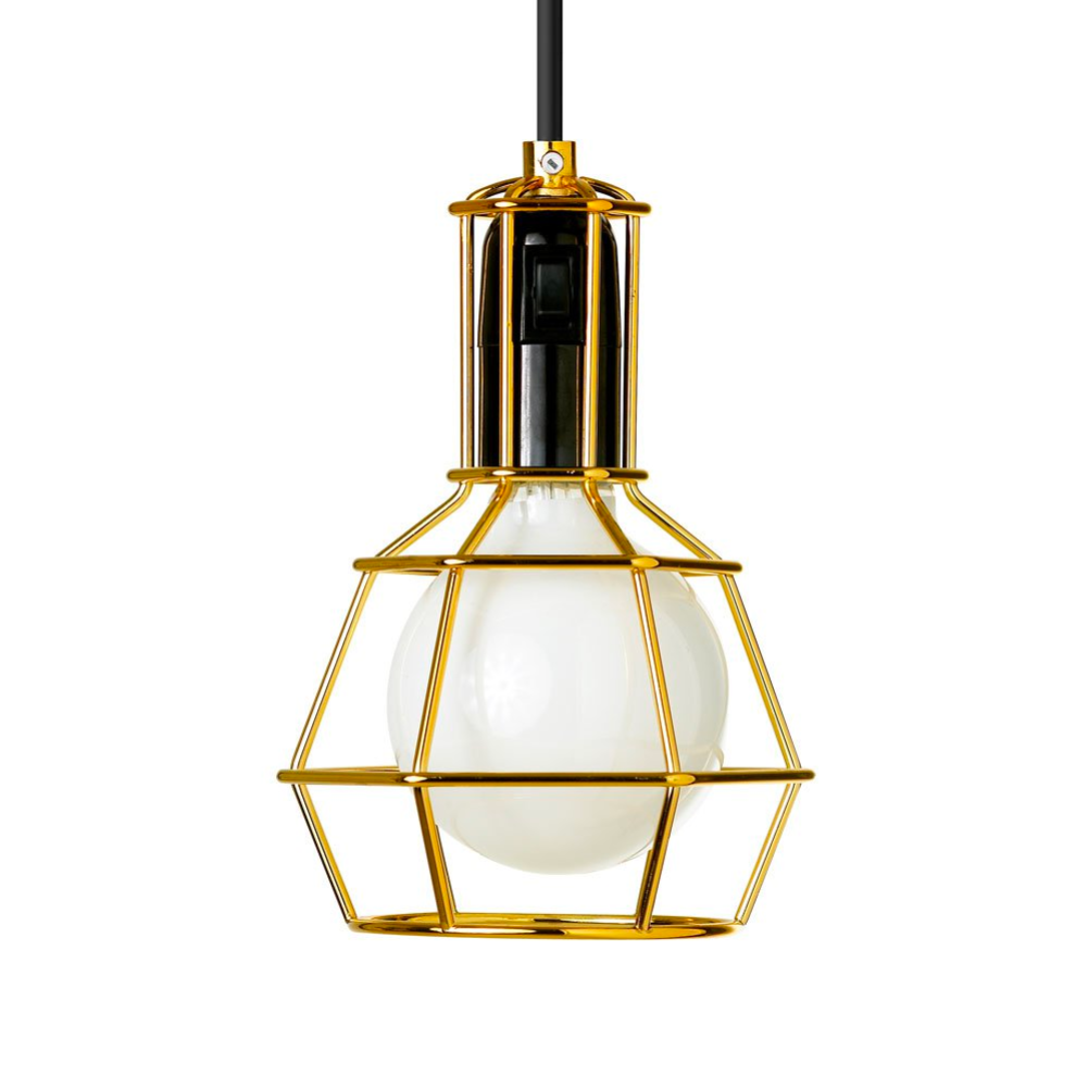 Design House Stockholm Work Lamp , Gold