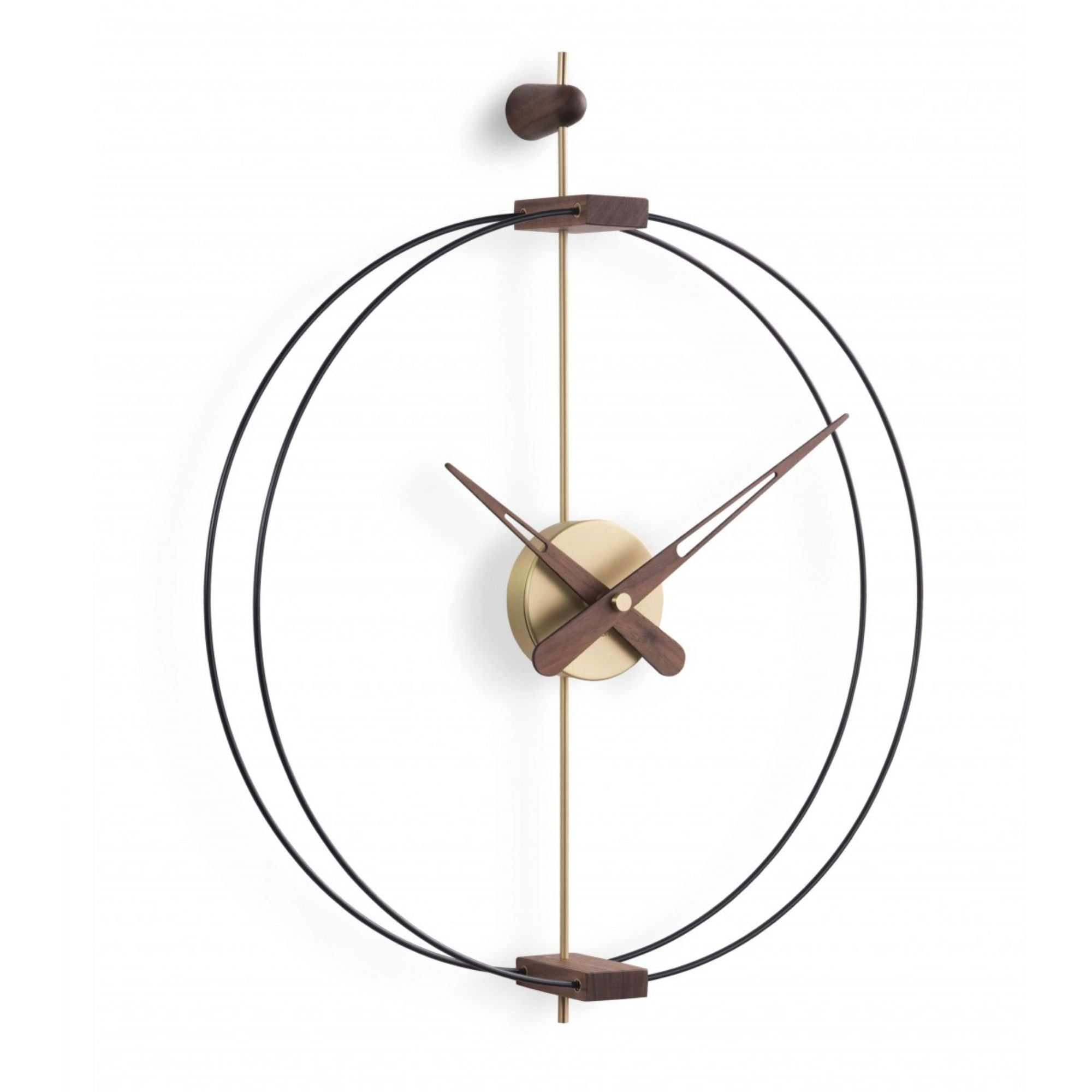 Nomon Micro Barcelona Gold Wall Clock