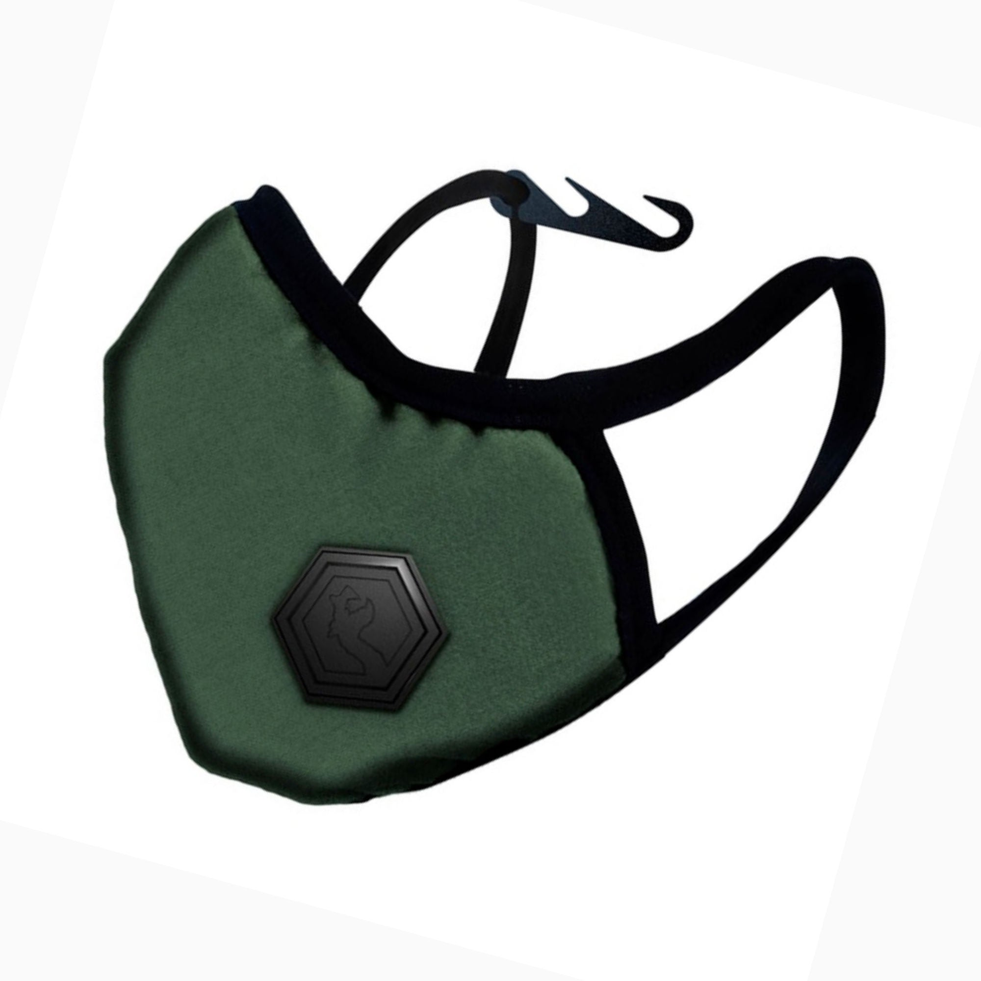 DRAGON Casual II Mask Small, Army Green