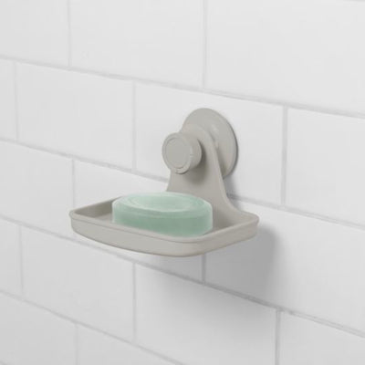 Umbra Flex Gel Lock Soap Dish , Grey