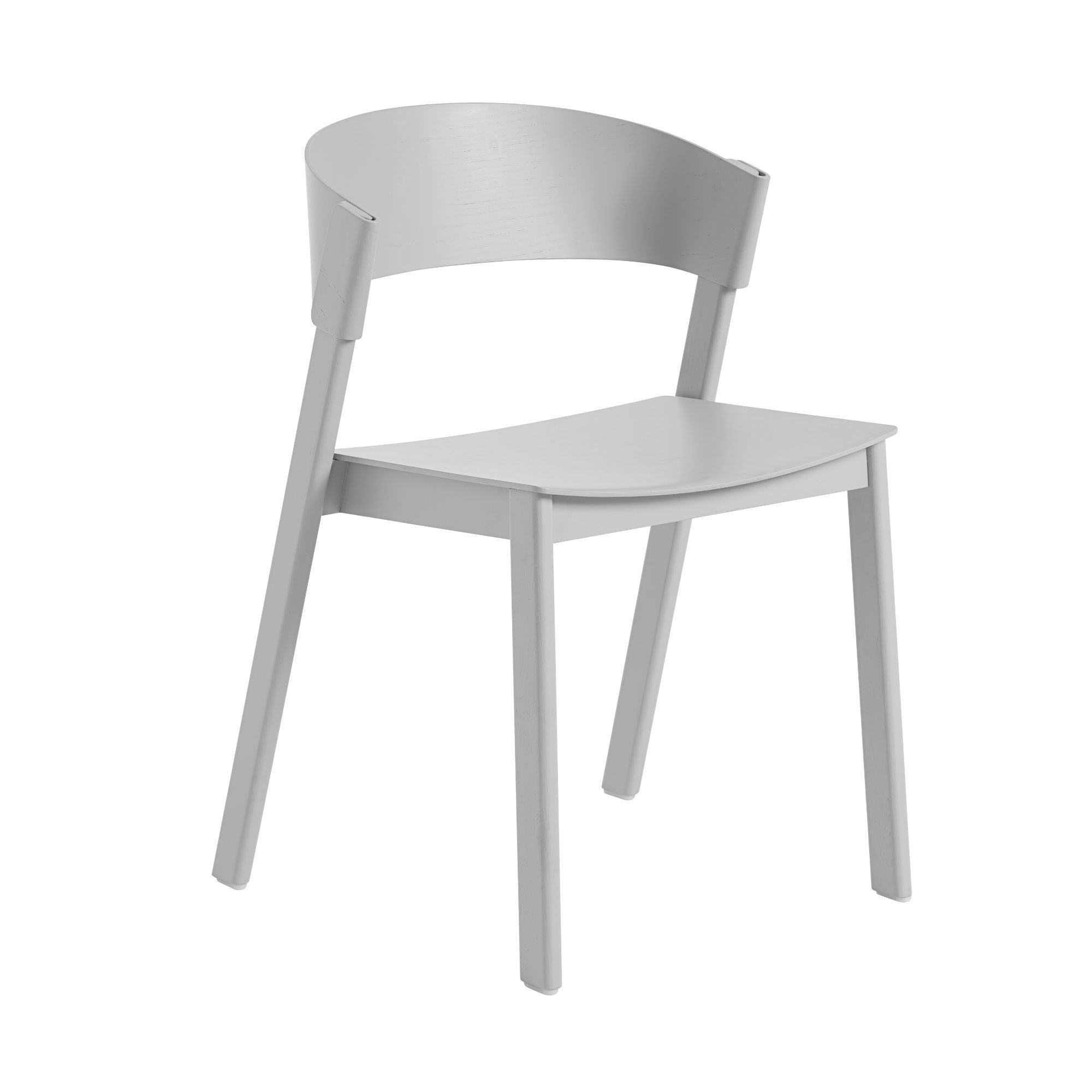 Muuto Cover side chair, grey