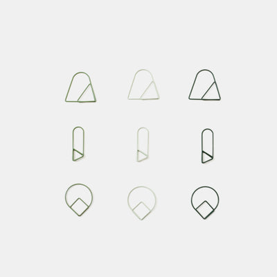Areaware Paper Clips - Set Of 9