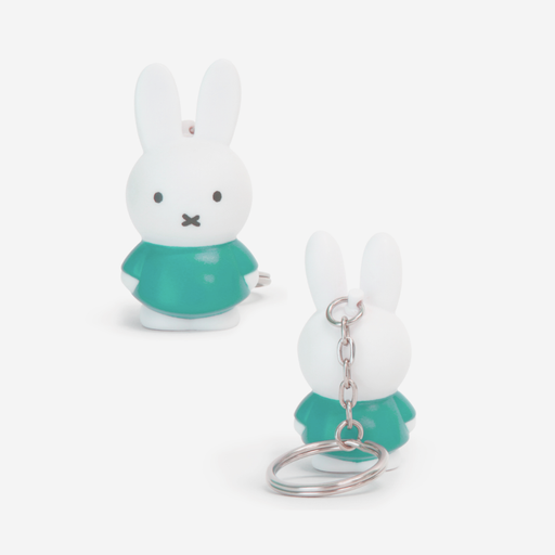 Miffy Keyring . Moody Green