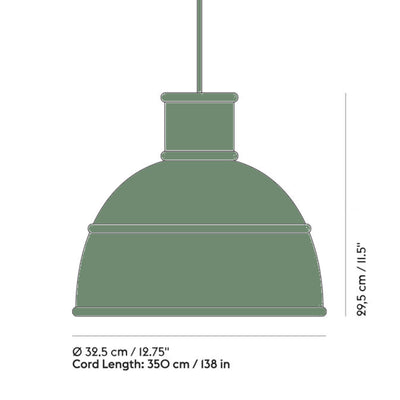 Muuto Unfold Pendant Lamp , Green