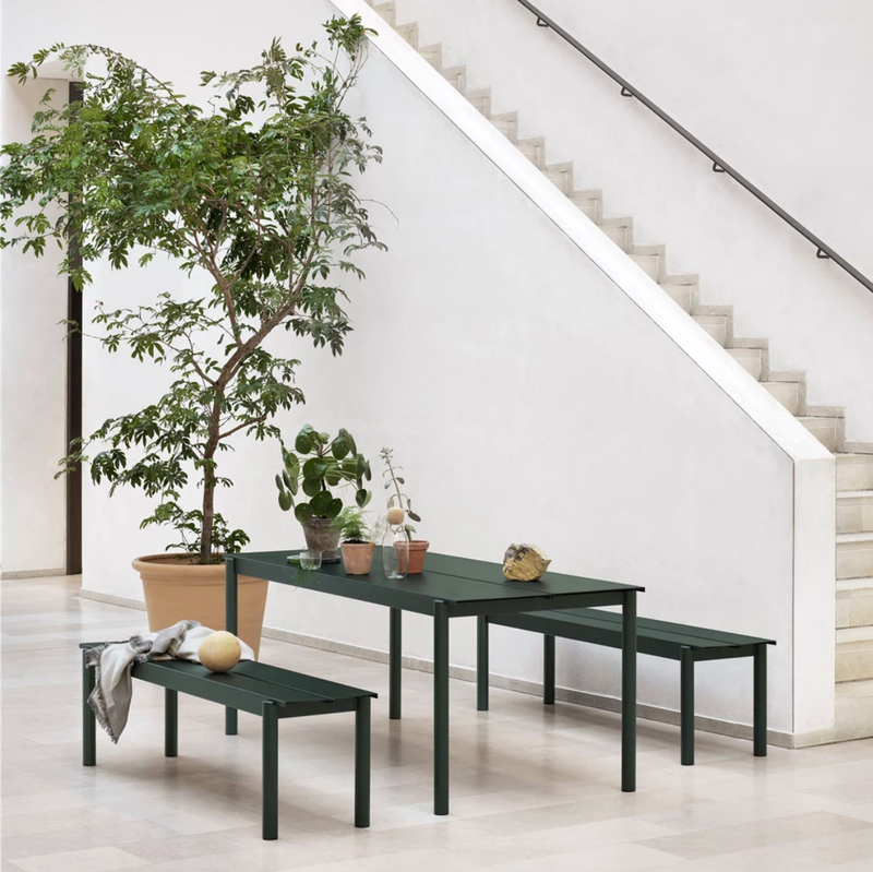 Muuto Linear Steel Bench 170 x 34cm