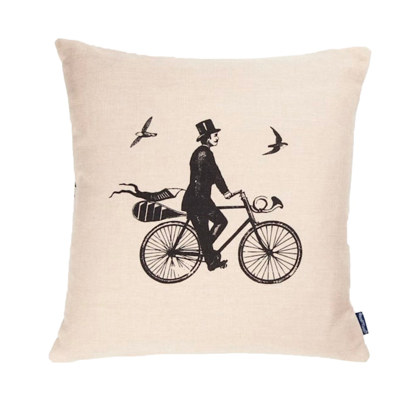 Chase & Wonder Gentleman Rides Cushion
