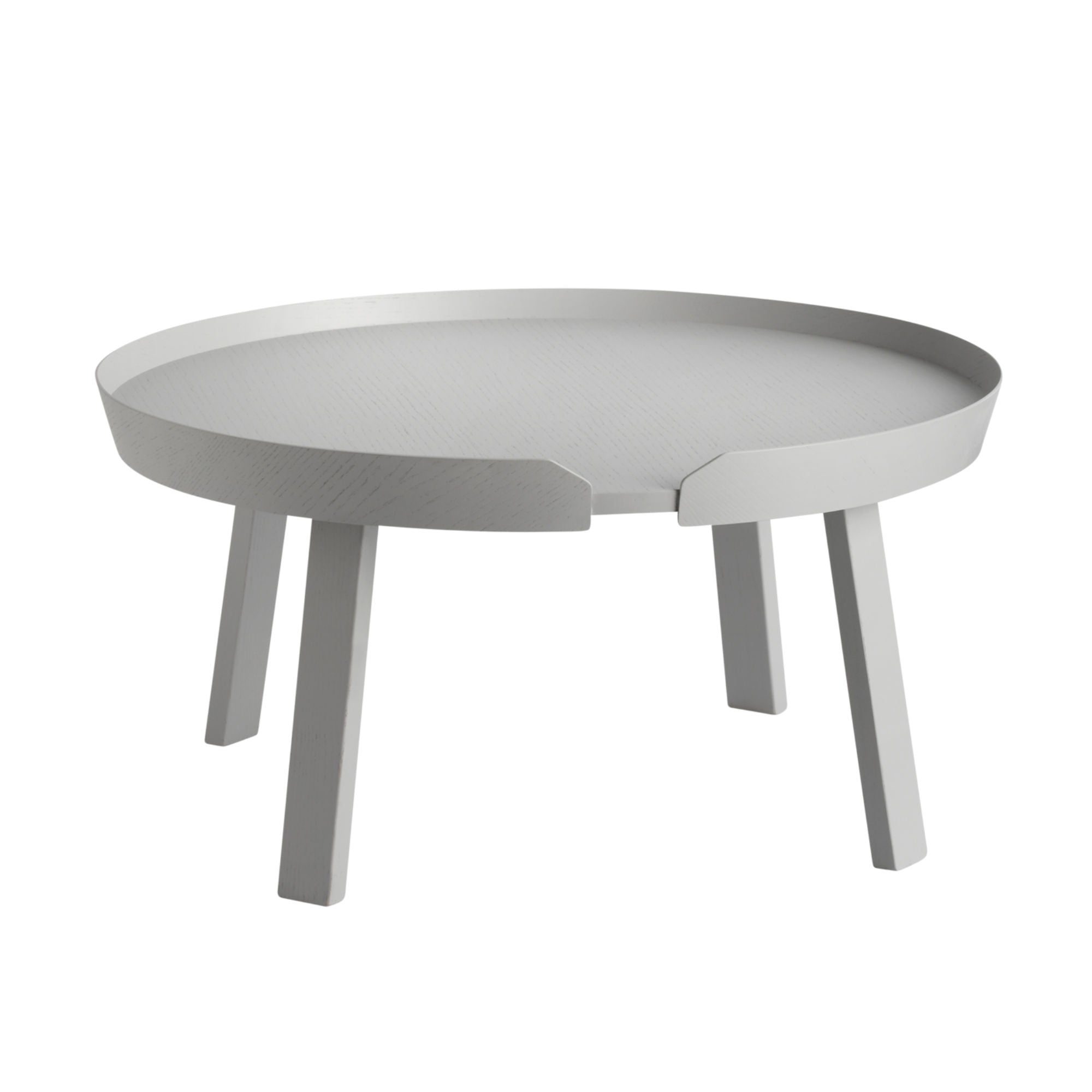 Muuto Around Coffee Table Large Ø72 , Grey