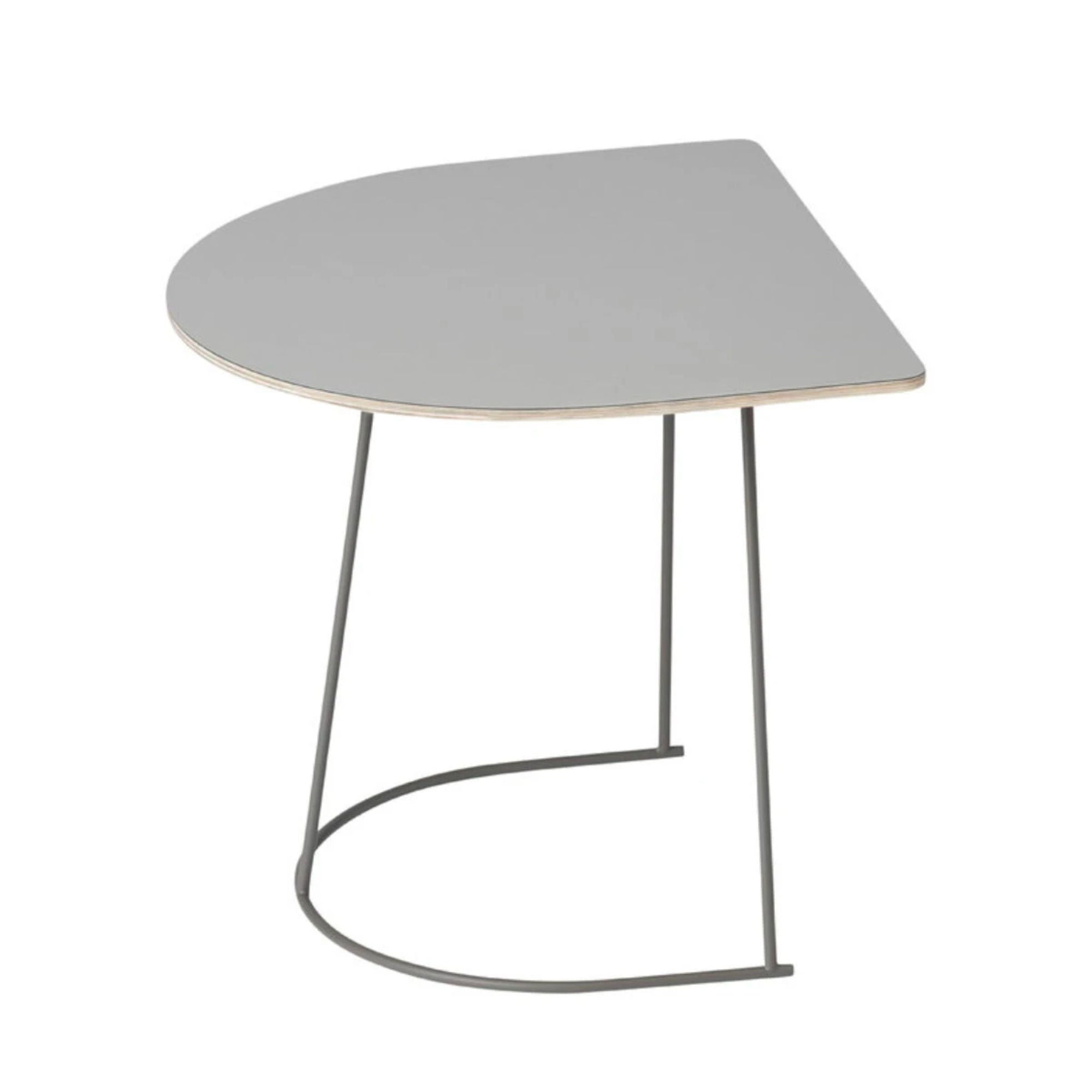 Muuto Airy Coffee Table Half Size , Grey