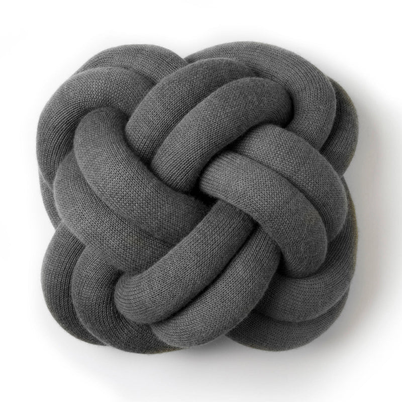 Design House Stockholm Knot Cushion , Grey