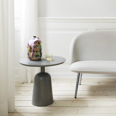 Normann Copenhagen Turn Side Table Ø55 , Grey