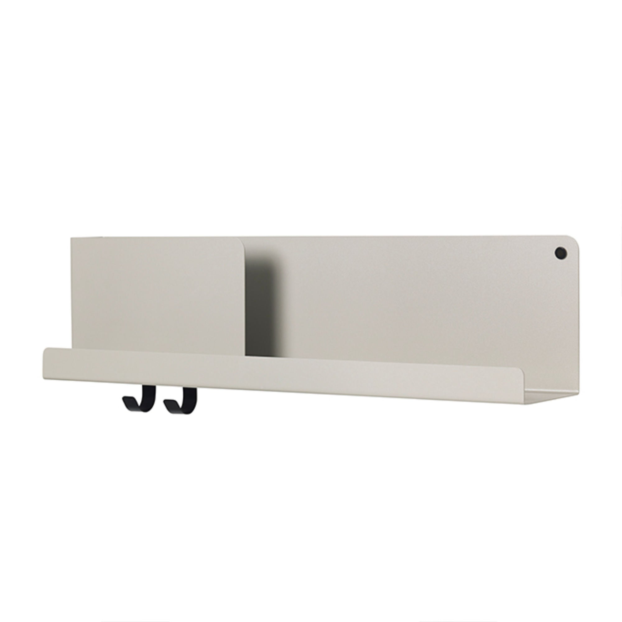 Muuto Folded Shelves 63x16,5cm , Grey