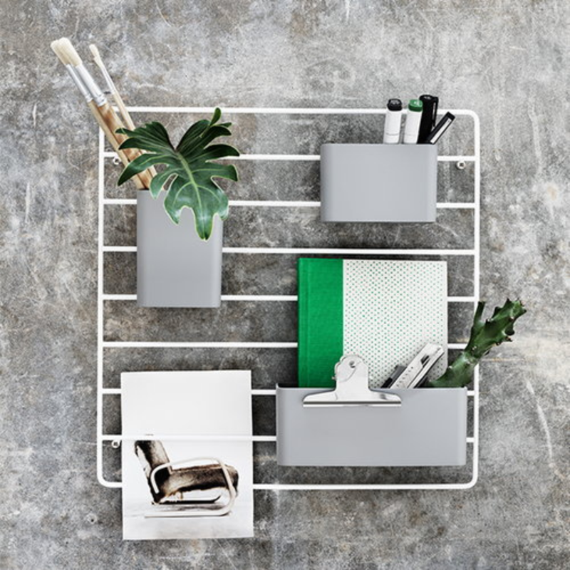 String Organiser 3-pack . Grey