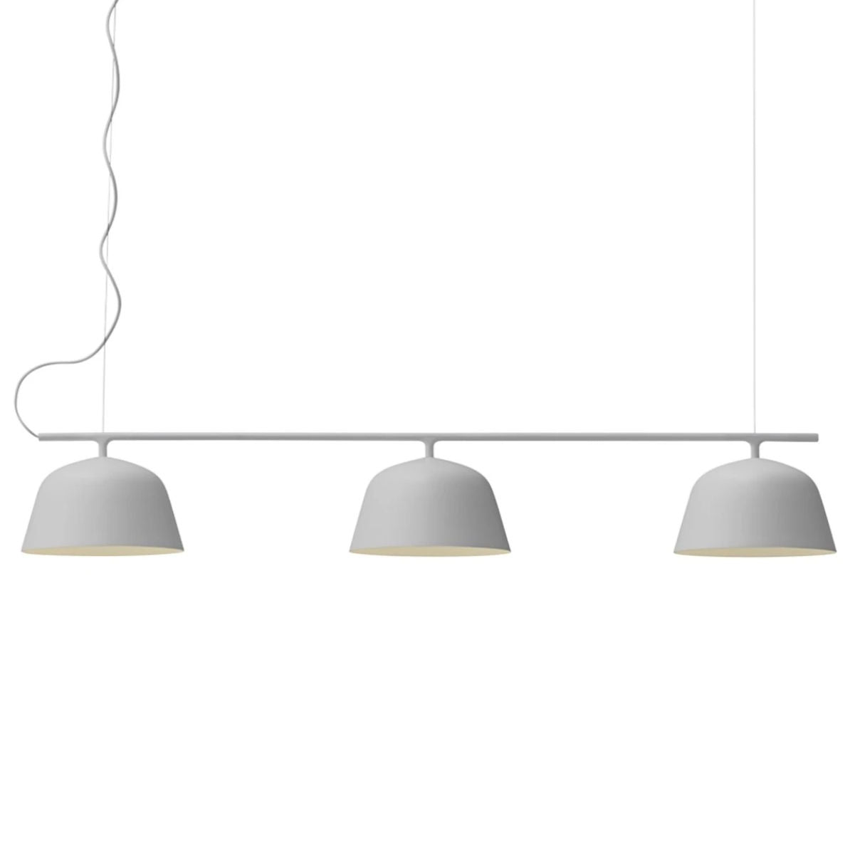 Muuto Ambit rail lamp, grey
