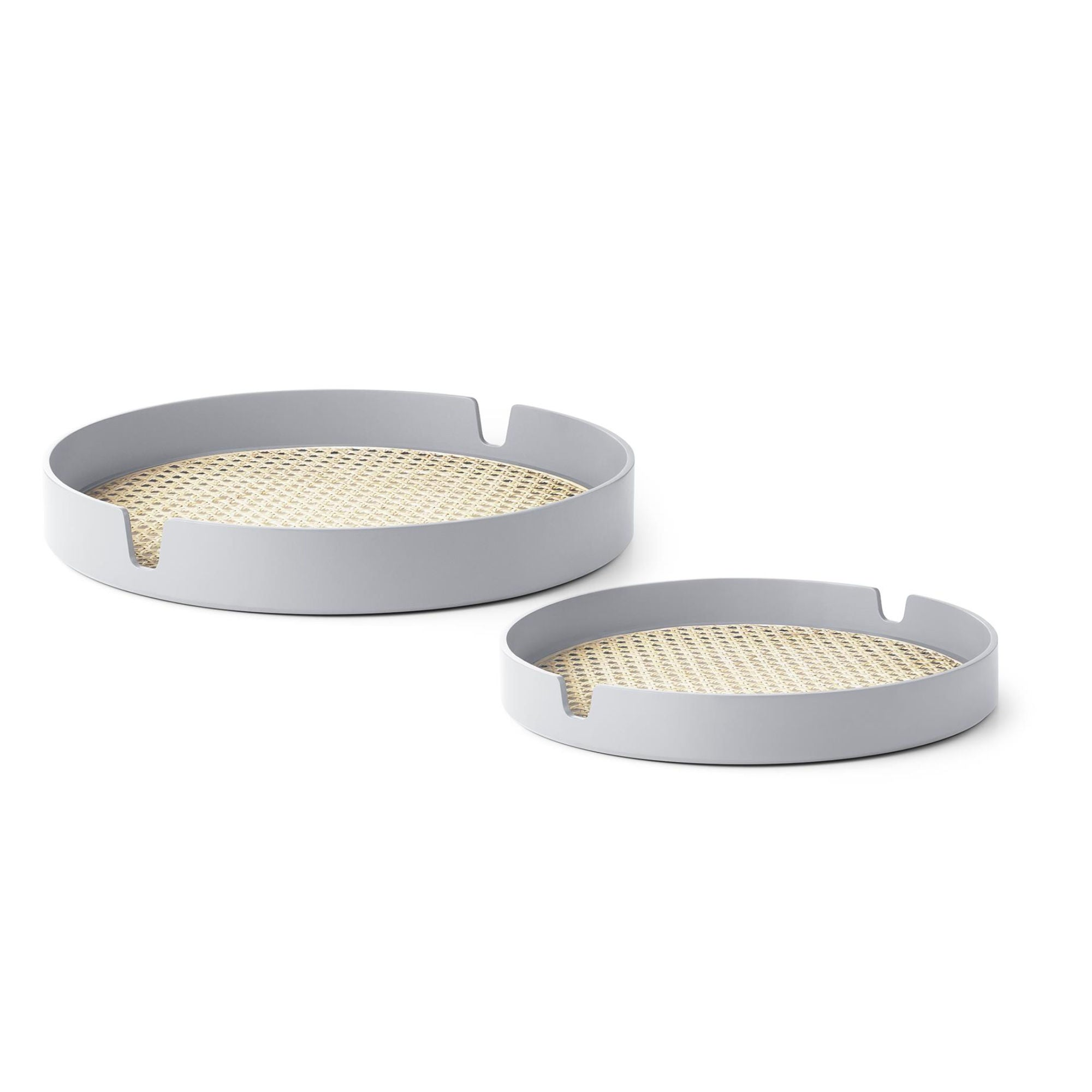 Normann Copenhagen Salon Tray Set of 2 , Grey