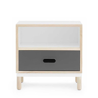 Normann Copenhagen Kabino bedside table, grey