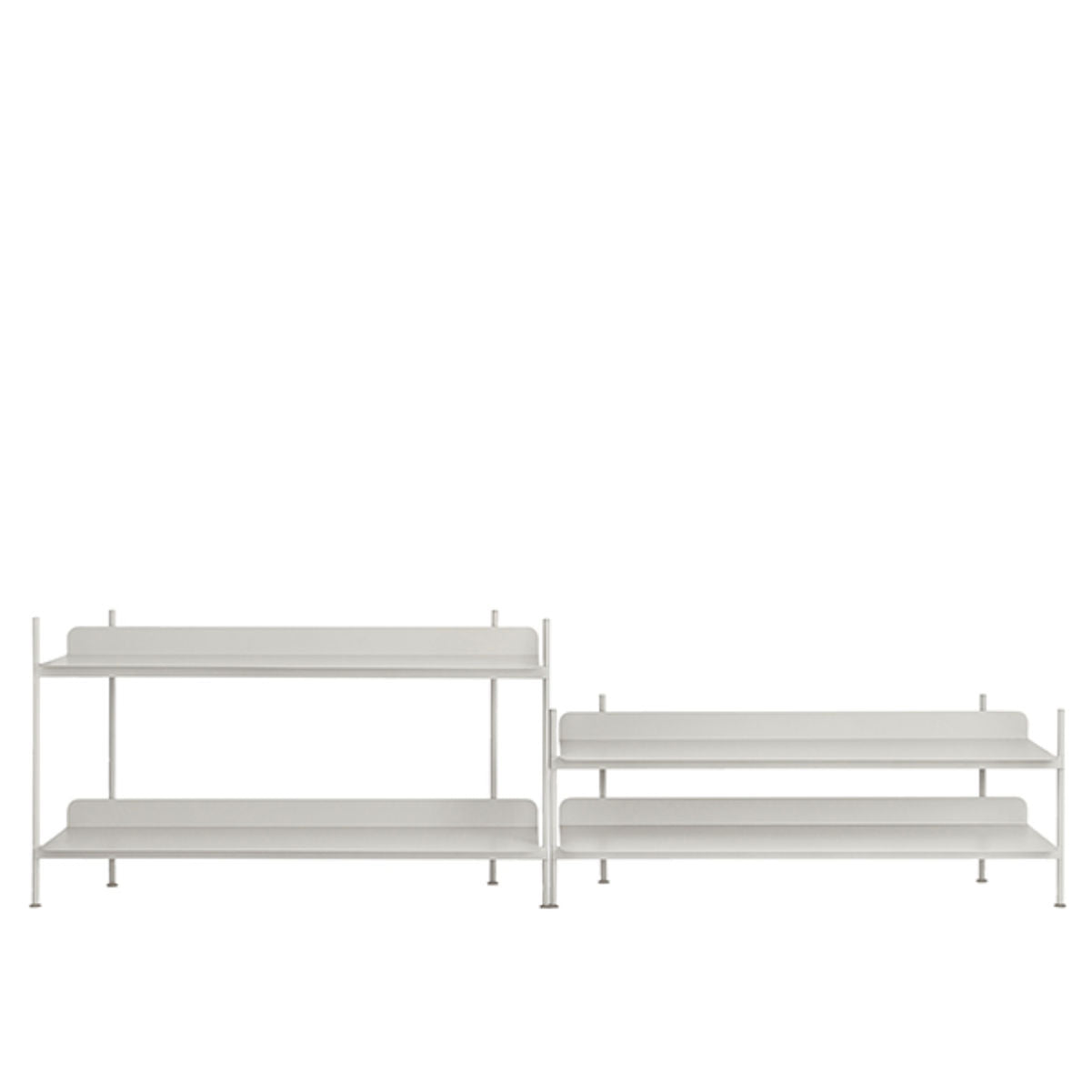 Muuto Compile Shelving System configuration 5