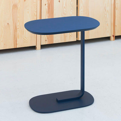 Muuto Relate Side Table , Blue Grey