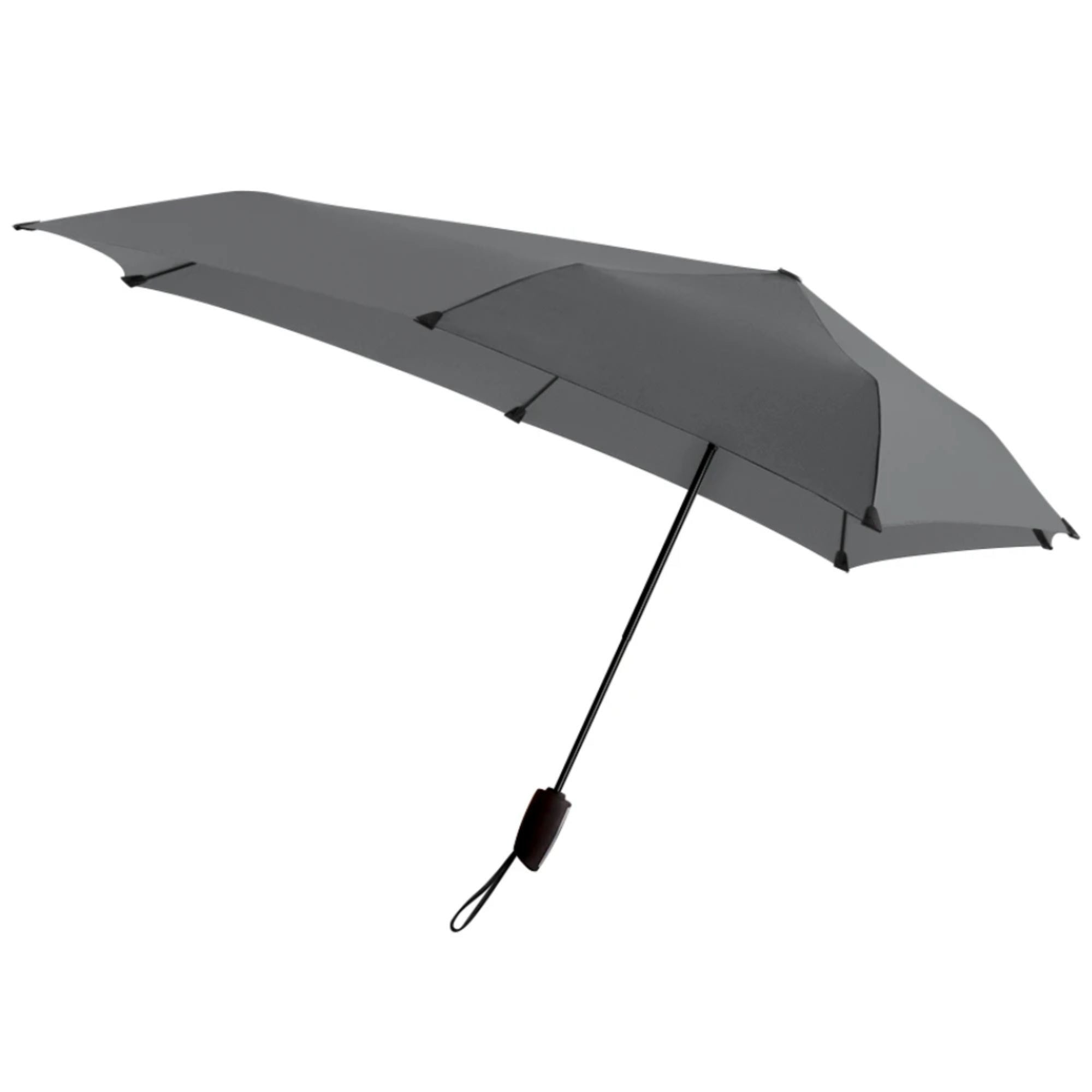 Senz° Automatic foldable umbrella, silk grey