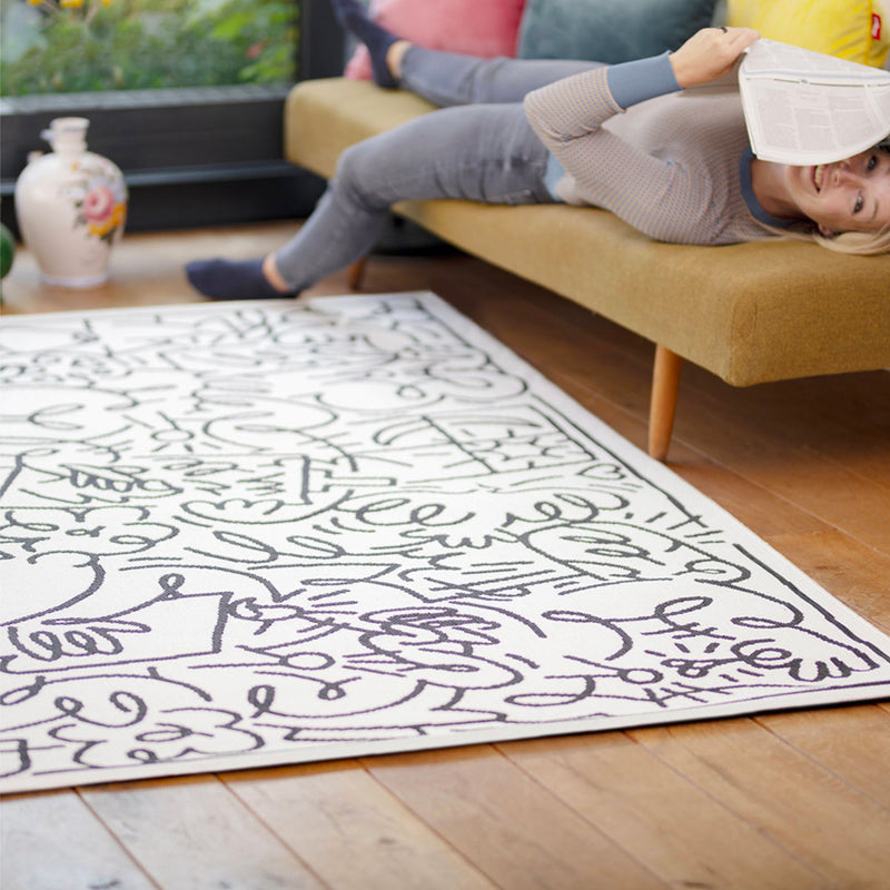 Fatboy Carpet Diem outdoor rug, jordy white