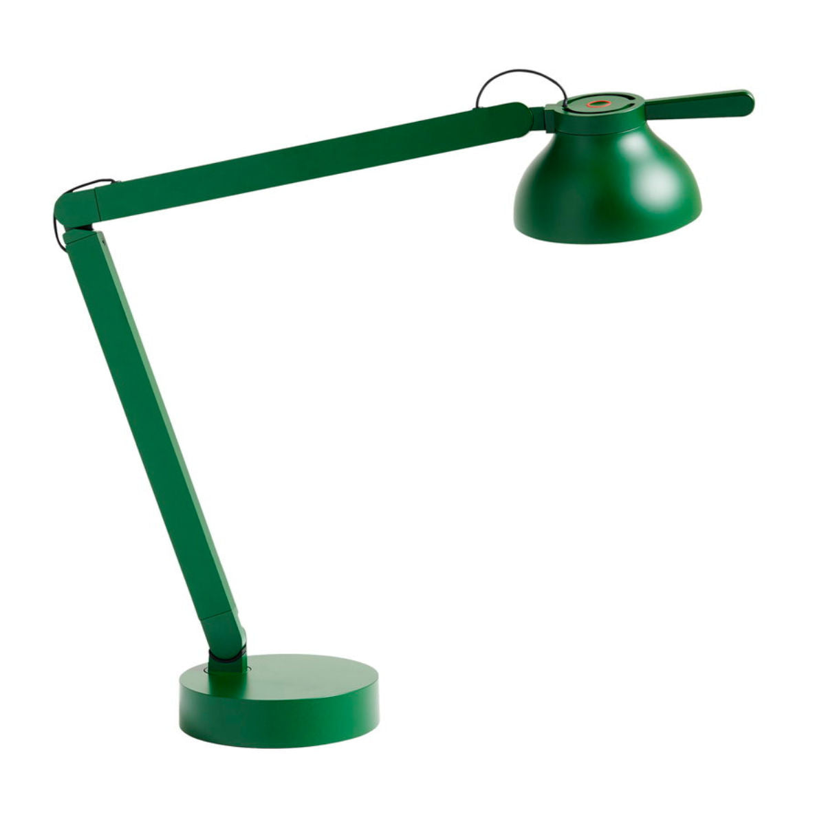 Hay PC double arm table lamp, green