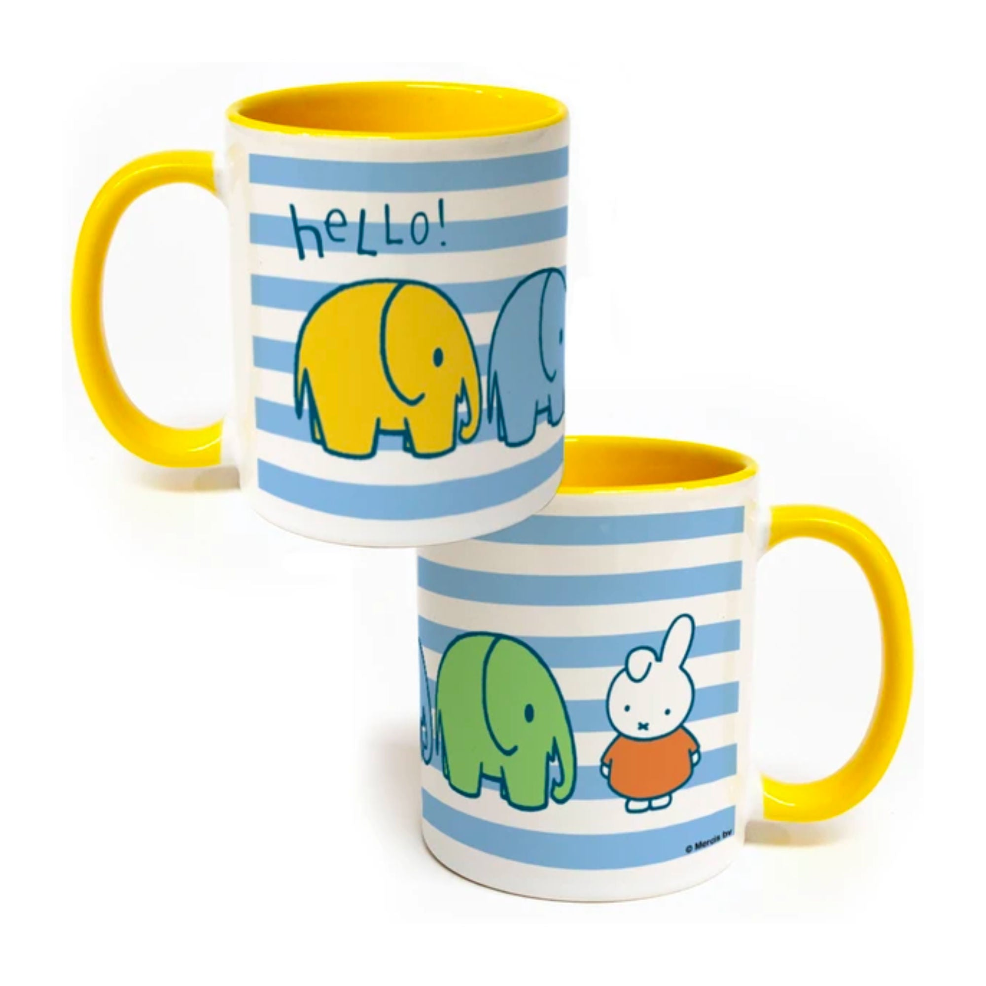 Miffy Porcelain Mug 11oz , Hello