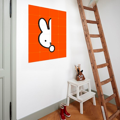 IXXI Miffy Hide And Seek orange